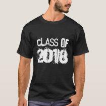 Graduation Class of 2018 Grunge t-shirt