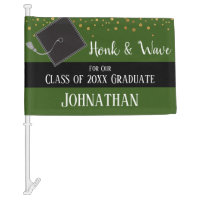 Graduation Class of 2020 Car Party Car Flag