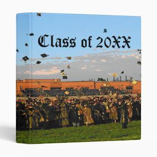 Graduation Class of 20XX on Field 3 Ring Binders