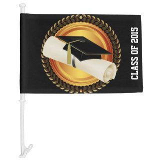 "Graduation ""Class Of""  Car Flag"