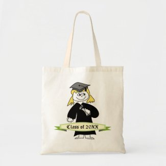 Graduation Class of Personalized Canvas Bags