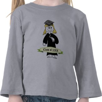 Graduation Class of Personalized T-shirt
