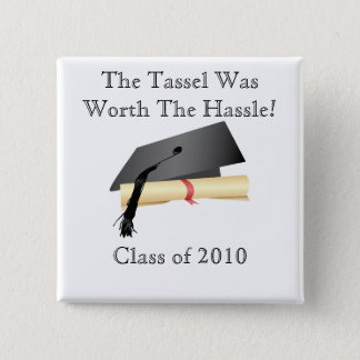 Graduation Class of (Year) Button