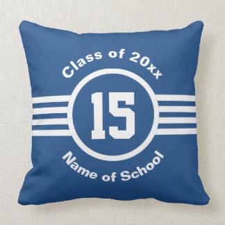 Graduation Class Year Athlete College Going Away Pillow