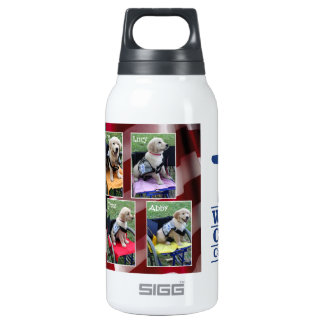 Graduation Collage Insulated Water Bottle