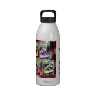 Graduation Collage Water Bottle