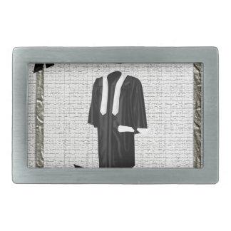 Graduation Commencement, 2015, Cap & Gown with Dip Belt Buckle