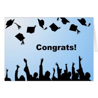 Graduation Congratulation Greeting Card