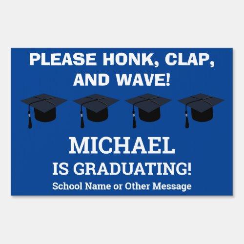 Graduation Congratulations Coronavirus Honk Wave Sign