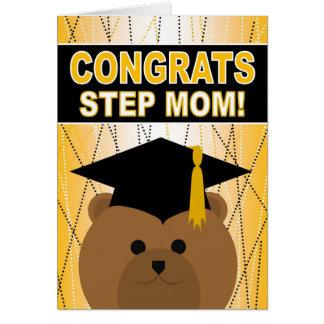 Graduation Congratulations for Step Mom Card