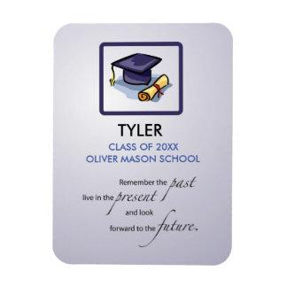 Graduation Congratulations Remember the Past Magnet