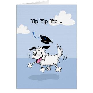 Graduation Congratulations Yippee Dog Card