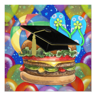 Graduation Cook Out / Party - SRF Invitation