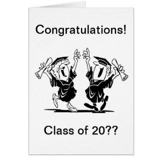 Graduation Couple - Class of Card