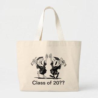 Graduation Couple - Class of Large Tote Bag
