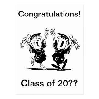 Graduation Couple - Class of Postcard