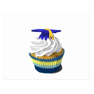Graduation cupcake postcard