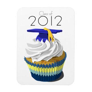 Graduation cupcake premium magnet