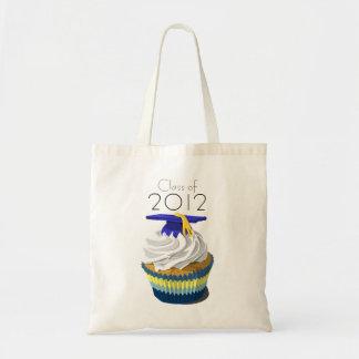 Graduation cupcake tote bag