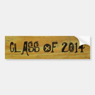 Graduation customizable Class of... Bumper Sticker