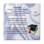 "Graduation Daughter Poem Tile<br><div class=""desc"">Ideal gift for the graduating daughter</div>"