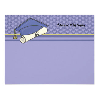 Graduation Day Personalized Thank You / Notecard Personalized Invites