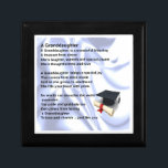 "Graduation designed box - granddaughter Poem<br><div class=""desc"">A great gift for a granddaughter on her graduation</div>"