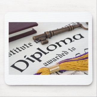 Graduation Diploma Congratulations Mouse Pad