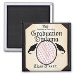 Graduation Diploma Photo Frame Fridge Magnets