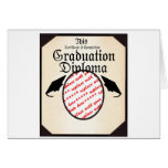 Graduation Diploma Photo Frame Greeting Card