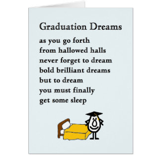 Funny Poems For Graduates Gifts on Zazzle