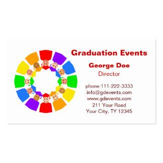 Graduation Events Business Card