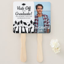 Graduation Fan Place Holder Custom Graduate Photo