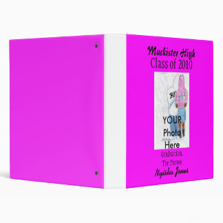 Graduation Fancy Binder