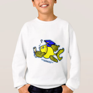 Graduation Fish Graduate fish Diploma Sweatshirt