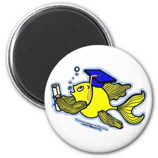 Graduation Fish Graduate Magnets