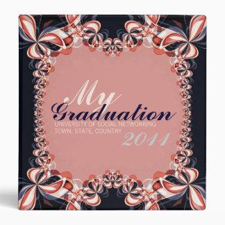 Graduation flag colours Photo album & keepsake Bin 3 Ring Binder