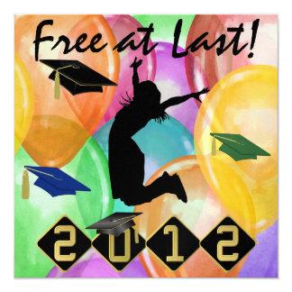 Graduation - Free At Last -  SRF Card