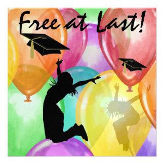 Graduation - Free At Last - SRF Custom Announcements