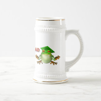 Graduation Frog Beer Stein