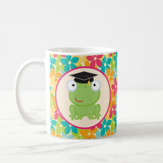 Graduation Frog Grad Gift Idea Coffee Mug