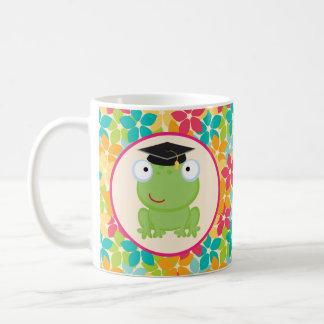Graduation Frog Grad Gift Idea Classic White Coffee Mug