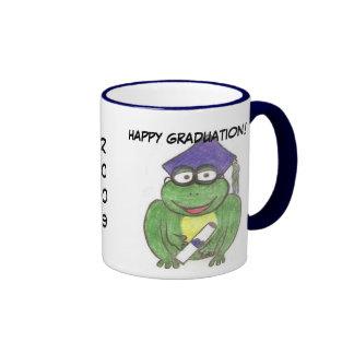 Graduation frog mug