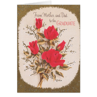 Graduation from Mom and Dad Card