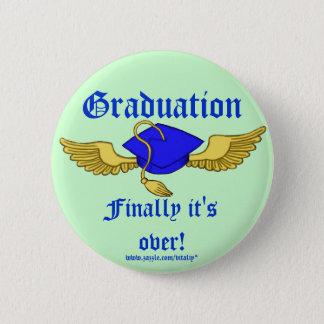 Graduation funny button