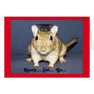 Graduation Gerbil Card