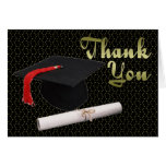 Graduation Gift Thank You Card