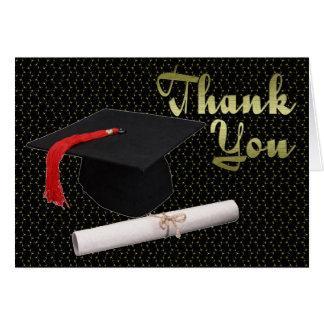 Graduation Gift Thank You Card