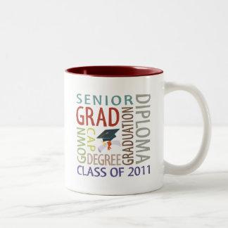 Graduation Gift Two-Tone Coffee Mug