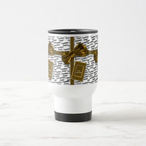 Graduation gifts - congratulations coffee cups mugs